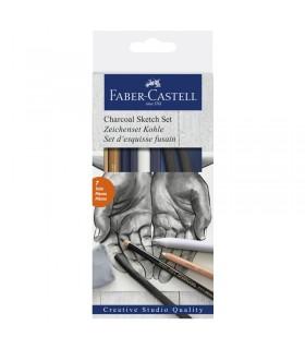 Set esquisse fusain Faber-Castell