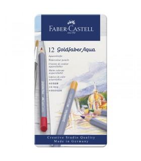 Boite de 12 Crayon Goldfaber Aquarelle Faber-Castell