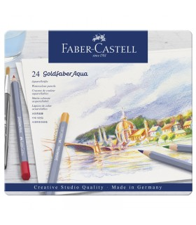 Boite de 24 Crayon Goldfaber Aquarelle Faber-Castell