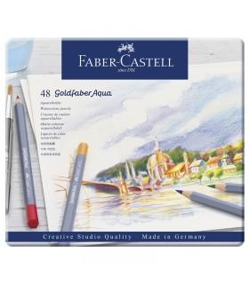 Boite de 48 Crayon Goldfaber Aquarelle Faber-Castell