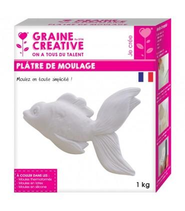Plâtre de moulage 1kg Graine Créative