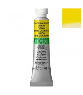Peinture aquarelle W&N Jaune Citron sans Cadmium 898 tube 5ml