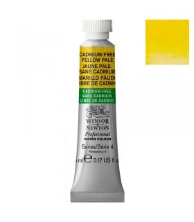 Peinture aquarelle W&N Aquarelle Jaune Pâle sans Cadmium 907 tube 5ml