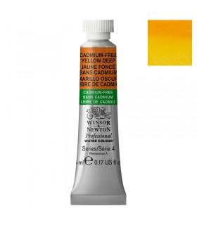 Peinture aquarelle W&N Aquarelle Jaune Foncé sans Cadmium 891 tube 5ml
