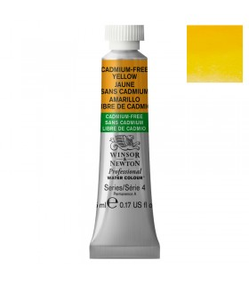 Peinture aquarelle W&N Aquarelle Jaune sans Cadmium 890 tube 5ml