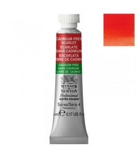 Peinture aquarelle W&N Aquarelle Écarlate sans Cadmium 903 tube 5ml