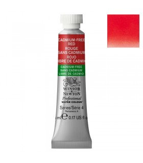 Peinture aquarelle W&N Aquarelle Rouge sans Cadmium 901 tube 5ml