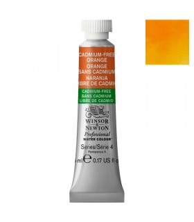 Peinture aquarelle W&N Aquarelle Orange sans Cadmium 899 tube 5ml