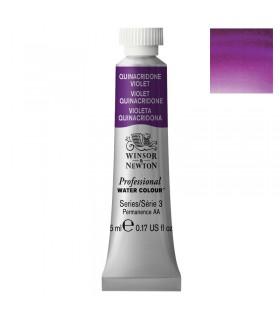 Peinture aquarelle W&N Violet Quinacridone 550 tube 5ml