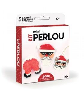 kit mini perlou Père Noël Graine Créative