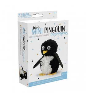 Kit pompons Mon mini pingouin Graine Créative
