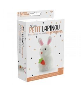 Kit pompons Mon petit lapinou Gaine Créative