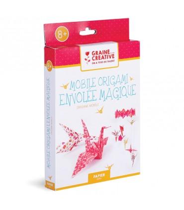 Kit DIY Mobile Origami Envolée Magique Graine Créative