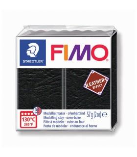 Pâte Fimo Effet Cuire Noir 909 57g