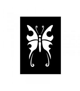 Pochoir Adhésif 7x10cm Papillon n°2