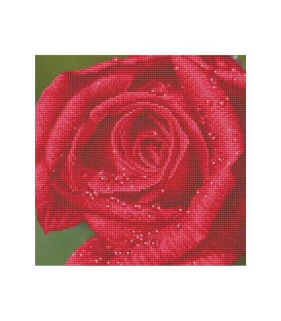 Diamond Dotz La rosée sur la rose