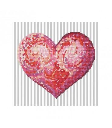 Diamond Dotz Coeur sincère