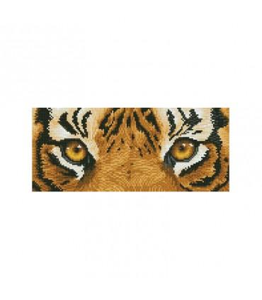 Diamond Dotz Les yeux du tigre