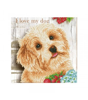Diamond Dotz I love my dog