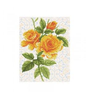 Diamond Dotz Bouquet de rose jaune