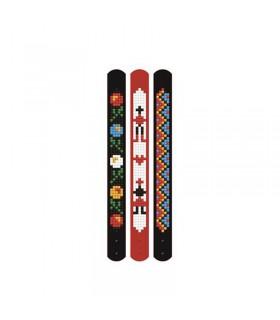 Broderie diamant 3 bracelets Ethniques Dotzies