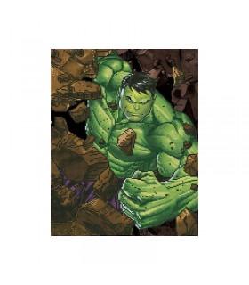 Broderie diamant Camelot Dotz Marvel Hulk