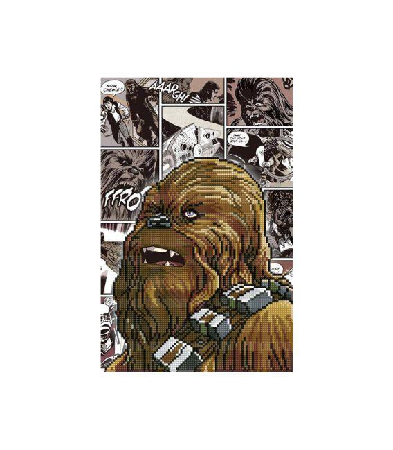 Broderie diamant Camelot Dotz Star Wars Chewbacca