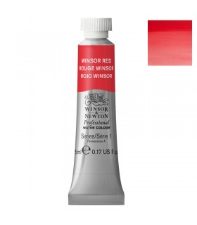 Peinture aquarelle W&N Rouge Winsor 726 tube 5ml