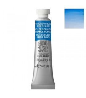 Peinture aquarelle W&N Bleu de Céruléum Nuance Rouge 140 tube 5ml