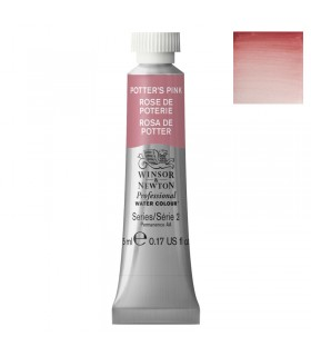 Peinture aquarelle W&N Rose de Poterie 537 tube 5ml