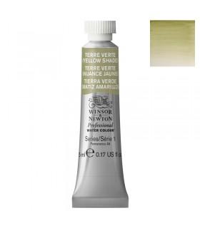Peinture aquarelle W&N Terre Verte Nuance Jaune 638 tube 5ml