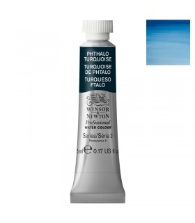 Peinture aquarelle W&N Turquoise de Phtalocyanine 526 tube 5ml