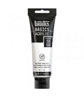 Peinture acrylique Liquitex Basics Blanc transparent 430