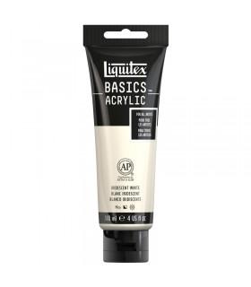 Peinture acrylique Liquitex Basics Blanc Iridescent 049