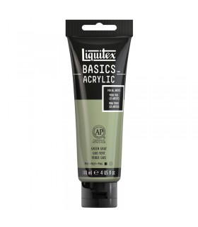Peinture acrylique Liquitex Basics Gris vert 205