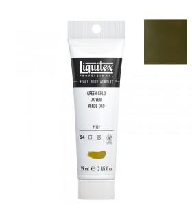 Peinture acrylique Liquitex Heavy body 59ml Or vert 325