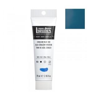 Peinture acrylique Liquitex Heavy body 59ml Bleu céruléum imitation 470