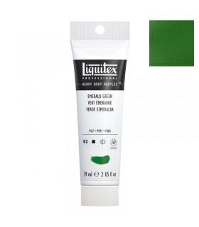 Peinture acrylique Liquitex Heavy body 59ml Vert emeraude 450