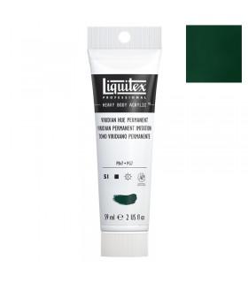 Peinture acrylique Liquitex Heavy body 59ml Vert emeraude imitation 398