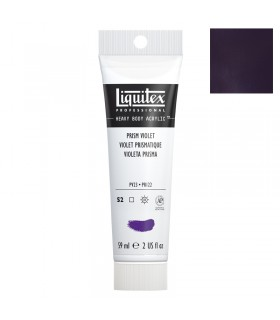 Peinture acrylique Liquitex Heavy body 59ml Violet prismatique 391
