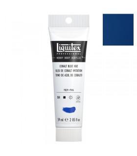 Peinture acrylique Liquitex Heavy body 59ml Bleu de cobalt imitation 381