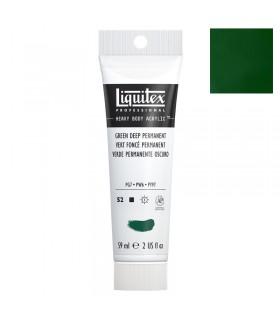 Peinture acrylique Liquitex Heavy body 59ml Vert foncé 350