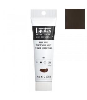 Peinture acrylique Liquitex Heavy body 59ml Terre d'ombre brulée 128
