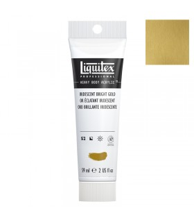 Peinture acrylique Liquitex Heavy body 59ml Or iridescent 234