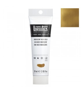 Peinture acrylique Liquitex Heavy body 59ml Or riche iridescent 235