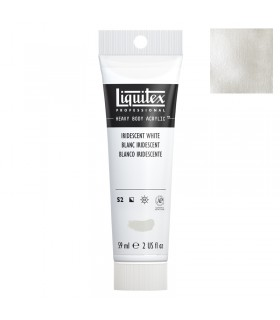 Peinture acrylique Liquitex Heavy body 59ml Blanc iridescent 238