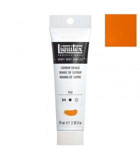 Peinture acrylique Liquitex Heavy body 59ml Orange de cadmium 150