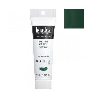 Peinture acrylique Liquitex Heavy body 59ml Vert feutré 501