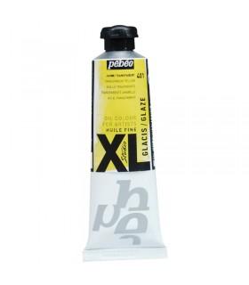 Peinture à l'huile Pébéo 37ml Jaune Transparent 401