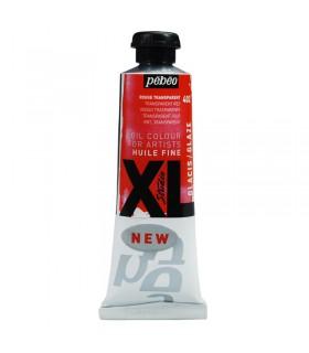Peinture à l'huile Pébéo 37ml Rouge Transparent 402